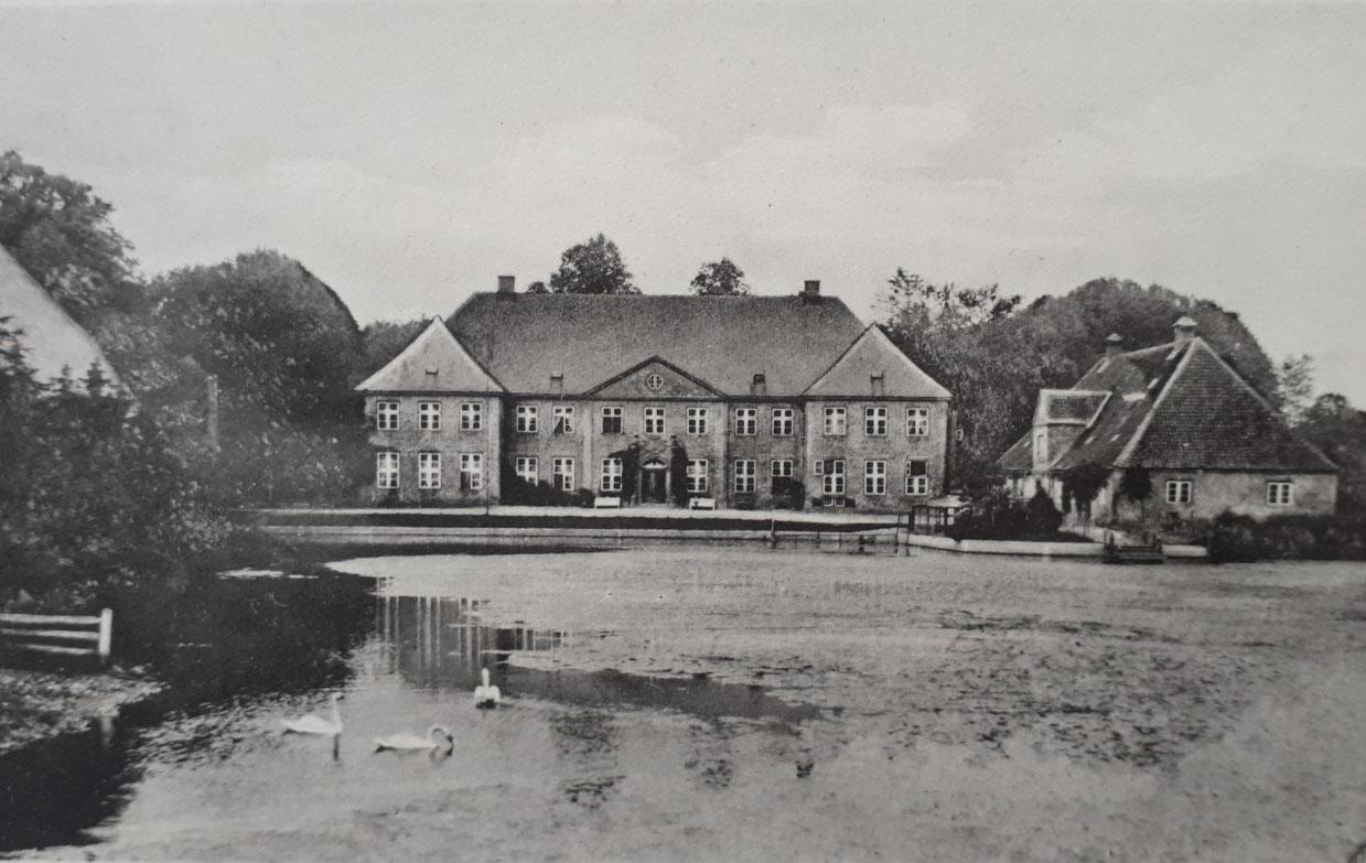 Historisches Bild - Herrenhaus Borghorst